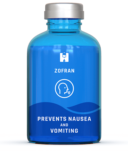 Boost with Zofran to help prevent nausea and vomiting